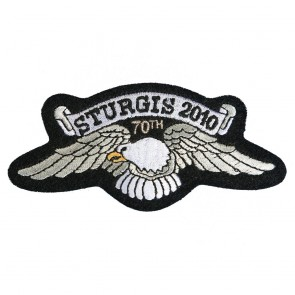 Official Sturgis 2010 70th Eagle Wings Patch