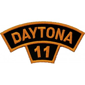 2011 Daytona Bike Week Tab Orange Rocker Event Patch