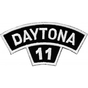 2011 Daytona Bike Week Tab White Rocker Event Patch