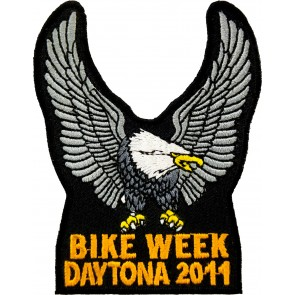 2011 Daytona Bike Week Silver Eagle Upwing Event Patch