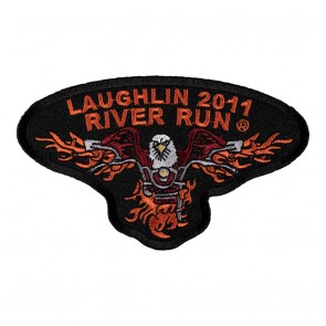 2011 Laughlin River Run Flaming Eagle Event Patch