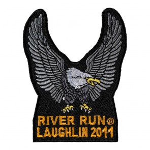 29th Annual Laughlin River Run Silver Eagle Upwing Event Patch