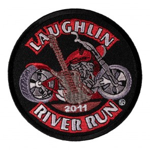 29th Anniversary Laughlin River Run Guitar & Motorcycle Event Patch