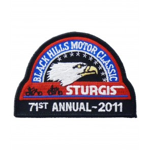 71st 2011 Sturgis Motorcycle Rally Official Past Year Event Patches