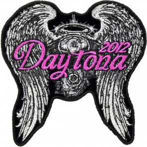 2012 Daytona Bike Week Angel Wings & Engine Event Patch