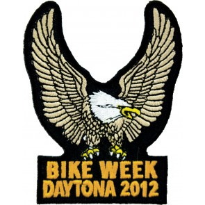 2012 Daytona Bike Week Brown Eagle Upwing Event Patch