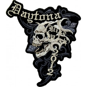 2012 Daytona Bike Week Marble Skull Event Patch