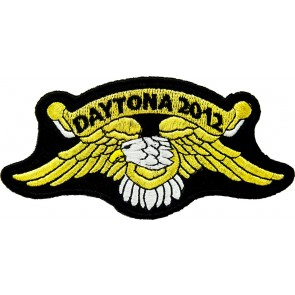 2012 Daytona Bike Week Gold Eagle Event Patch