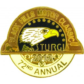 2012 Sturgis Official Black Hills Motor Classic Eagle Pin