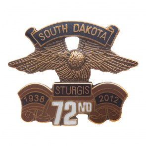 2012 Sturgis 73rd Annual Official Eagle Wing Pin