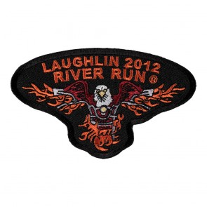 2012 Laughlin River Run Flaming Eagle Event Patch
