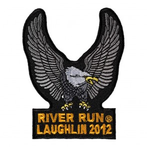 2012 Laughlin River Run Silver Eagle Upwing Event Patch