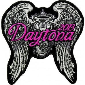 2013 Daytona Bike Week Angel Wings & Engine Event Patch