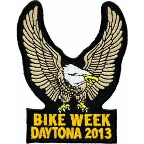 2013 Daytona Bike Week Brown Eagle Upwing Event Patch