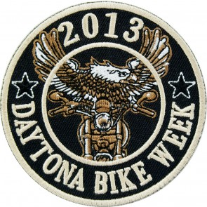 2013 Daytona Bike Week Eagle Biker Round Event Patch