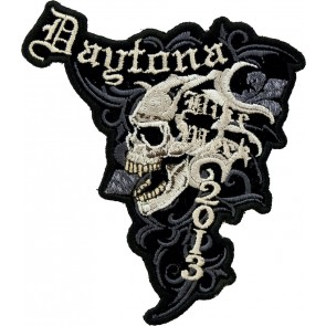 2013 Daytona Bike Week Marble Skull Event Patch