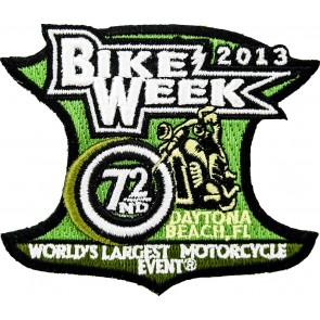 2013 Daytona Beach Bike Week Official Event Patch
