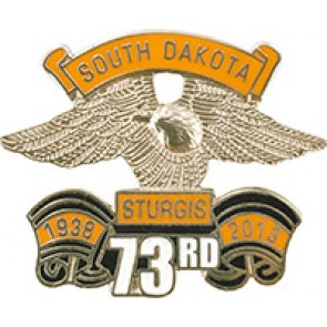 2013 Sturgis 73rd Annual Official Eagle Wing Pin