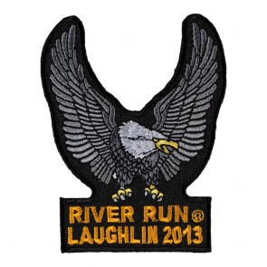 Iron On 2013 Laughlin River Run Silver Eagle Upwing Event Patch