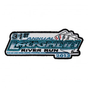 Sew On 2013 Laughlin River Run Aces Event Patch