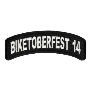 2014 Biketoberfest White Rocker Event Patch