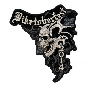 2014 Biketoberfest Marble Skull Event Patch