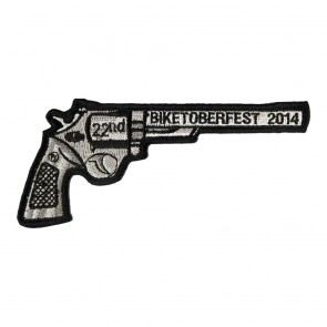 2014 Biketoberfest 22nd Revolver Gun Event Patch