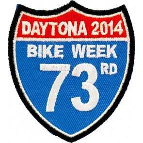Bike Week Road Sign Patch