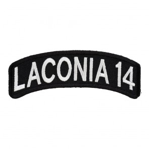 2014 Laconia White Rocker Event Patch