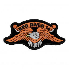 2014 Red River Orange Downwing Eagle Event Patch