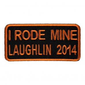 32nd Annual 2014 Laughlin I Rode Mine Orange Event Patch