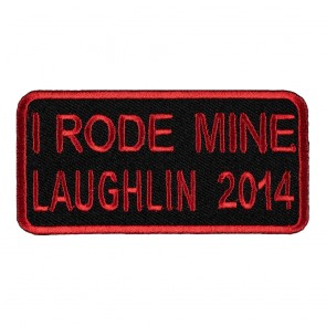 32nd Annual2014 Laughlin I Rode Mine Red Event Patch