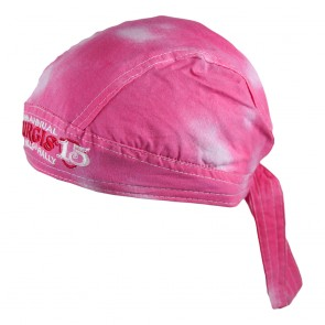 2015 Sturgis 75th Annual Black Hills Rally Pink Tie Dye Headwrap