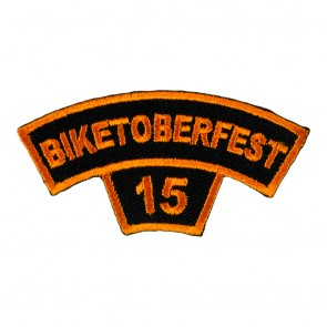 2015 Biketoberfest Orange Rocker Event Patch