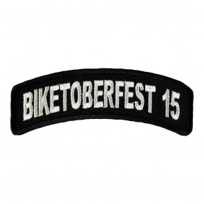 2015 Biketoberfest White Rocker Event Patch