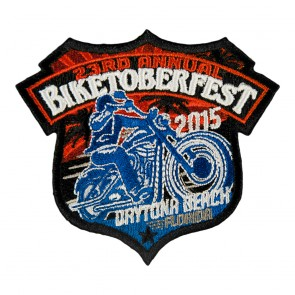 2015 Biketoberfest 23rd Daytona Beach Official Event Patch