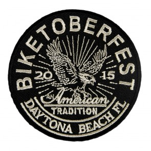 2015 Biketoberfest Daytona American Tradition Eagle Event Patch