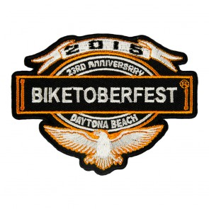 2015 Biketoberfest Eagle & Banner Event Patch
