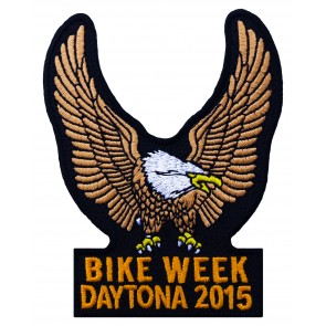 Bike Week Tan Eagle Patch