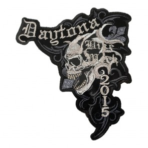 2015 Daytona Bike Week Marble Skull Event Patch