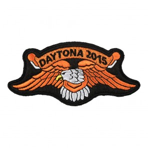 2015 Daytona Bike Week Orange Eagle Event Patch
