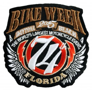 Official Bike Week 2015 Patch