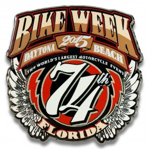Official Daytona Bike Week Pin
