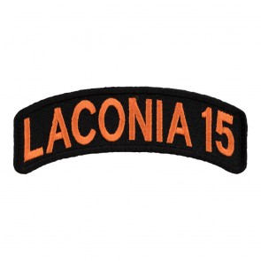 2015 Laconia White Rocker Event Patch