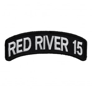 33rd Annual 2015 Red River White Rocker Event Patch