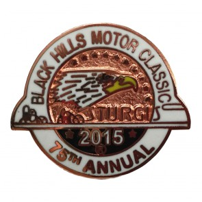 2015 Official Sturgis 75th Anniversary Black Hills Motor Classic Eagle Pin