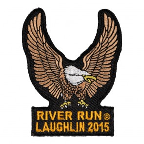 33rd Anniversary 2015 Laughlin River Run Brown Eagle Upwing Event Patch