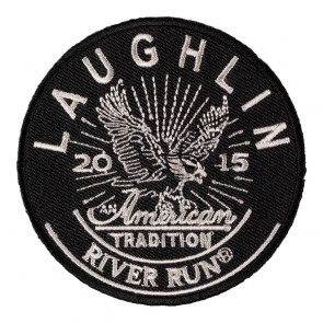 Embroidered 2015 Laughlin River Run American Tradition Eagle Event Patch