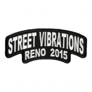 2015 Street Vibrations Reno White Rocker Event Patch