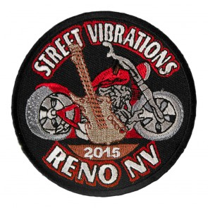 2015 Street Vibrations Reno Guitar & Motorcycle Patch